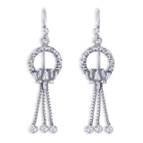 Taraash 925 Sterling Silver French Hook Earrings For Women CBER376I-01