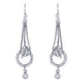 Taraash 925 Sterling Silver Antique Leaf Design Earrings For Women CBER376I-05