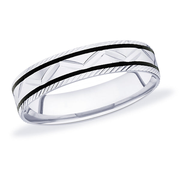 Taraash 925 Sterling Silver Band Finger Ring for Men CBFRBX56I-17