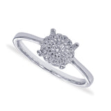 Taraash Sterling Silver Floral collection Finger Ring For Women CBFRBX84I-20