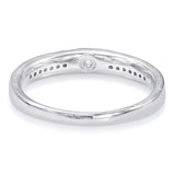 Taraash Sterling Silver Attractive Couple Band Ring For Couples CBFRBX_90I-05