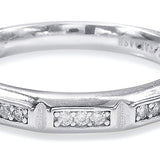 Taraash Sterling Silver Pleasing CZ Couple Ring For Couples CBFRBX_90I-07