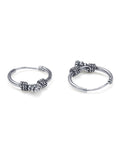 Taraash 925 Sterling Silver Combo of Designer Hoop Earrings For Women CBHP039I-03 A
