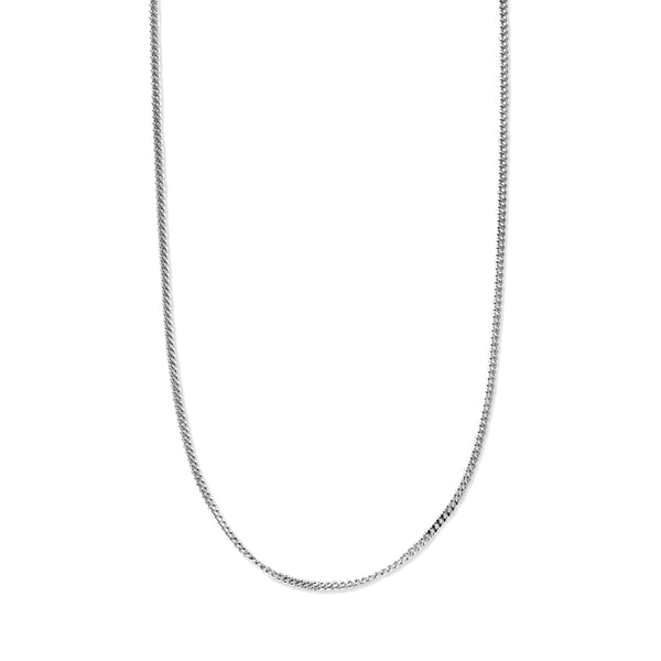 Taraash 925 Sterling Silver Antique Finish Curb Chain