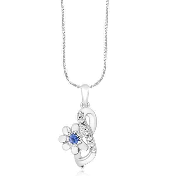 Taraash 925 Sterling Silver Elegant Design Combo Pendant With Chain For Women COMBO PDCH 158