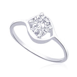 Taraash 925 Sterling Silver Ring For Women Silver-FR1153R6