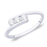Taraash Sterling Silver CZ Finger Ring for women FR1159R7
