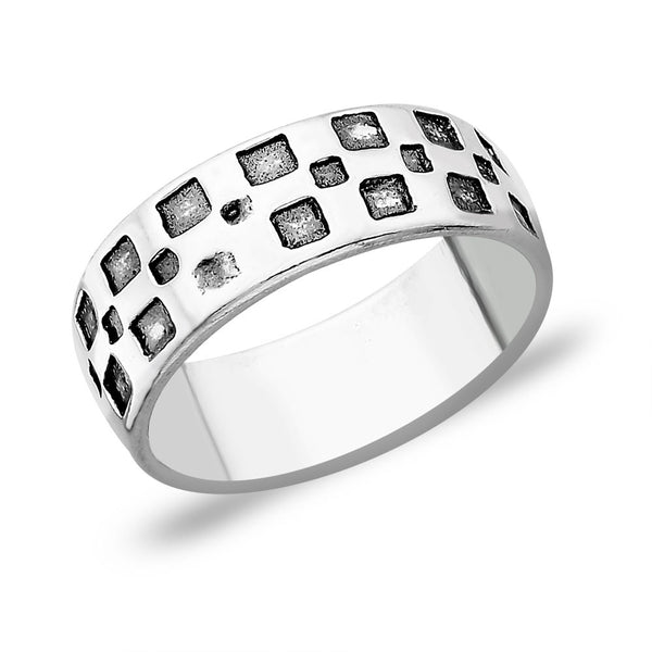Taraash Modern 925 Sterling Silver Finger Ring FR1213A9