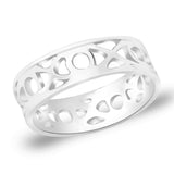 Taraash 925 Sterling Silver Finger Ring For Men Silver-FR1222A9