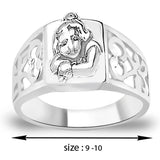 Taraash 925 Sterling Silver Gopala Finger Ring For Men FR1318A9