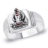 Taraash 925 Sterling Silver Balaji Finger Ring For Men FR1322A9
