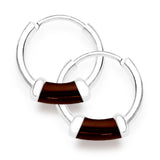 Taraash 925 Sterling Silver  Hoop Earring For Women Silver-H42014ZD