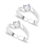 Taraash CZ  925 Sterling Silver Toe Ring For Women LR0613S