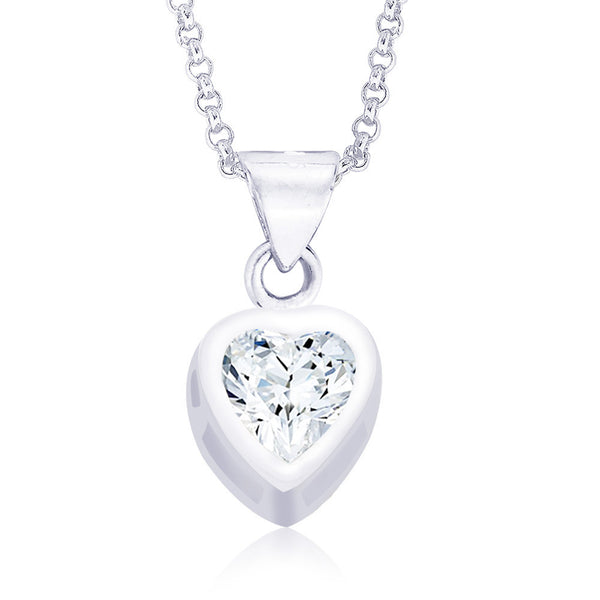 Taraash 925 Sterling Silver  Pendant  For Women Silver-PD0203S