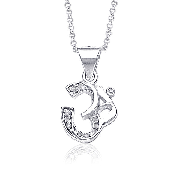 Taraash 925 Sterling Silver  Pendant  For Unisex Silver-PD0637S