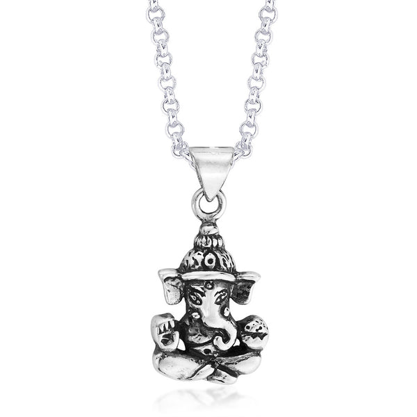 Taraash Sterling-Silver Pendant  For Unisex Silver-PD0769A