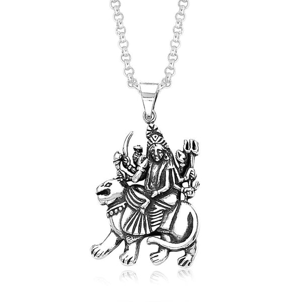 Taraash Sterling-Silver Pendant  For Unisex Silver-PD0857A