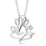 Taraash Ganesha 925 Sterling Silver Pendant For Unisex PD1152S