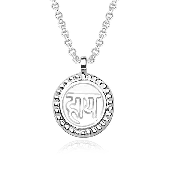 Taraash HAI' 925 Sterling Silver Pendant For Men and Women PD1195S