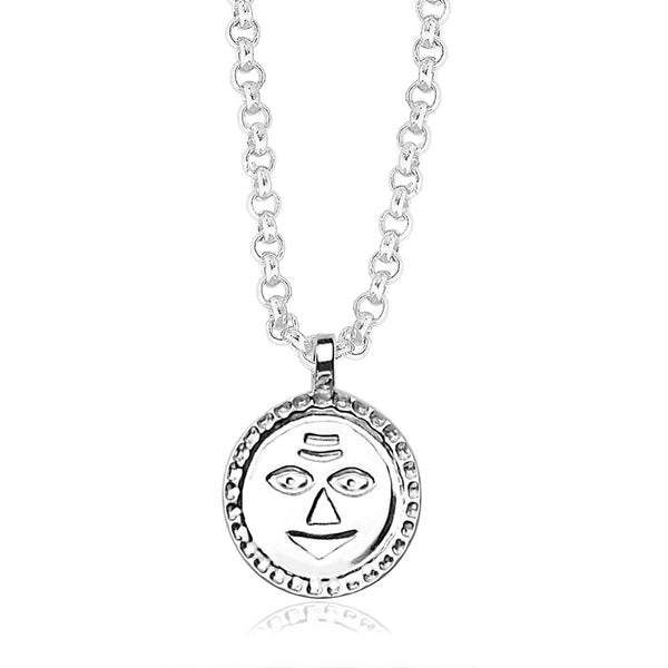 Taraash 925 Sterling Silver  Pendant  For Unisex Silver-PD1196S