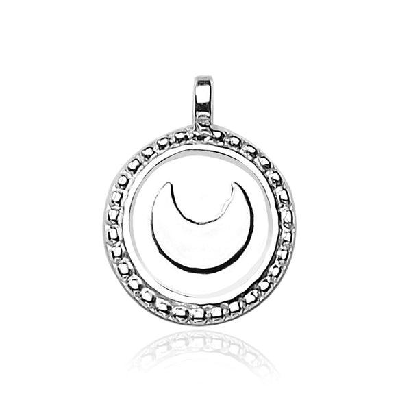 Taraash 925 Sterling Silver Pendant For Unisex Silver-PD1197S