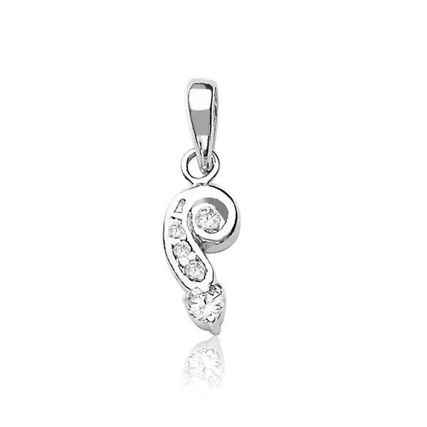 Taraash 925 Sterling Silver  Pendant  For Women Silver-PD1249R