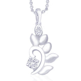 Taraash 925 Sterling Silver  Pendant  For Women Silver-PD1257R