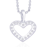 Taraash 925 Sterling Silver  Pendant  For Women Silver-PD1260R