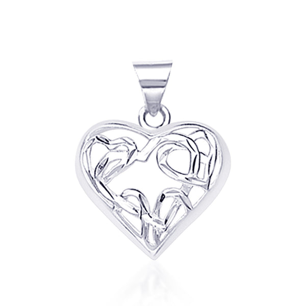 Taraash 925 Sterling Silver  Pendant  For Women Silver-PD1289S
