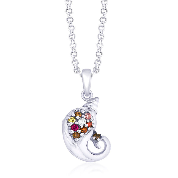 Taraash Sterling-Silver Pendant  For Unisex Silver-PD1585R