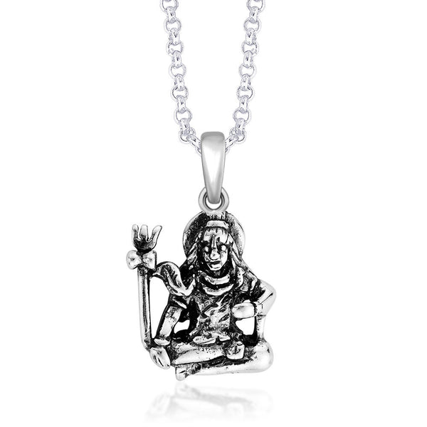Taraash Sterling-Silver Pendant  For Unisex Silver-PD1594A