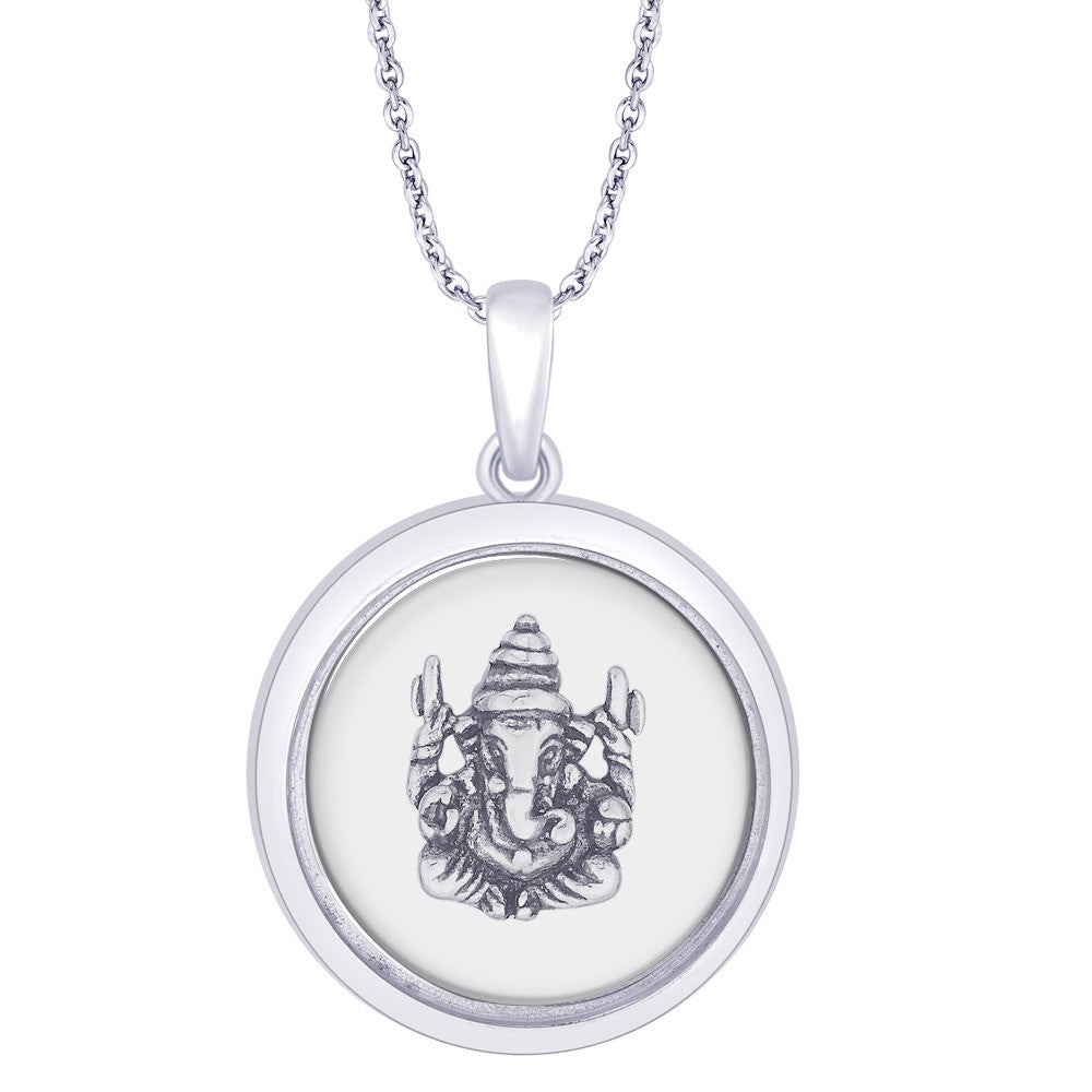 95dc1a08f Taraash 925 Sterling Silver Lord Ganesh Pendant For Unisex PD1632A