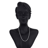 Taraash 925 Silver Stylish Rope Silver Chain For Women and Girl