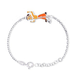 Taraash 925 Sterling Silver Chota Bheem Rakhi For Kids