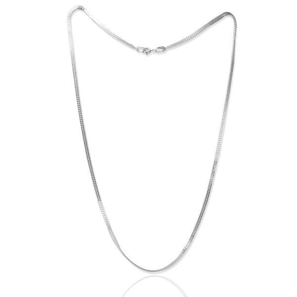 Taraash 925 Sterling Venetian Silver Chain For Women