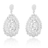 Blisse 925 Sterling Silver CZ Pendent Set For Women