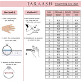 Taraash Sterling Silver Dashing Promise Couple Ring For Couples CBFRBX_90I-03