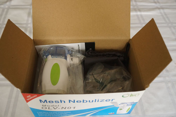 unboxing the nebulizer