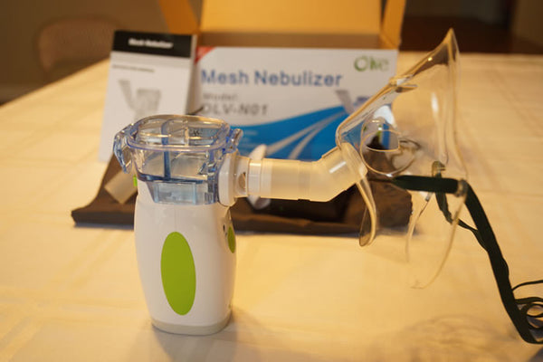 nebulizer set up