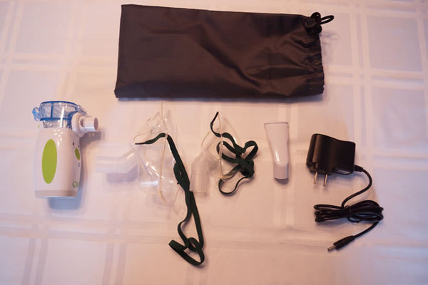 nebulizer kit with storage bag