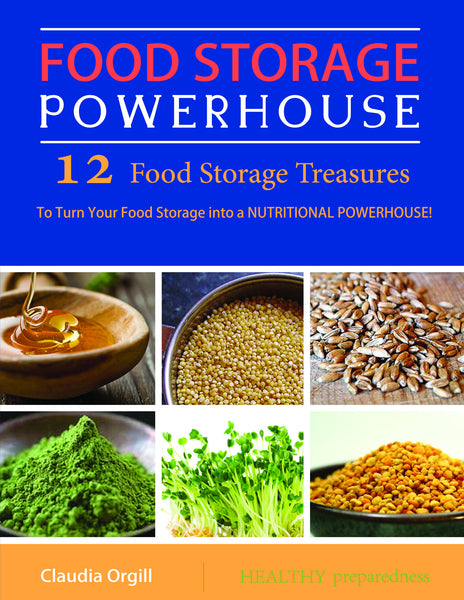 Food Storage Powerhouse: 12 Food Storage Treasures