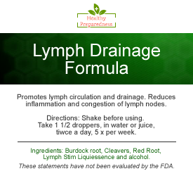 Lymph Herbal Formula - 2 oz.