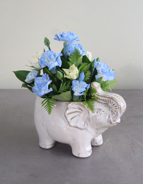 New Arrival Elephant Fresh Floral Arrangement