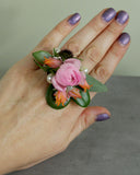 Fresh Floral Fashion Ring