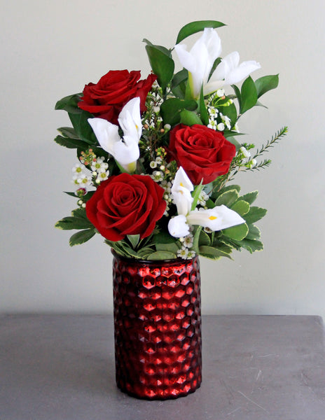 Be Mine Fresh Floral Arrangement