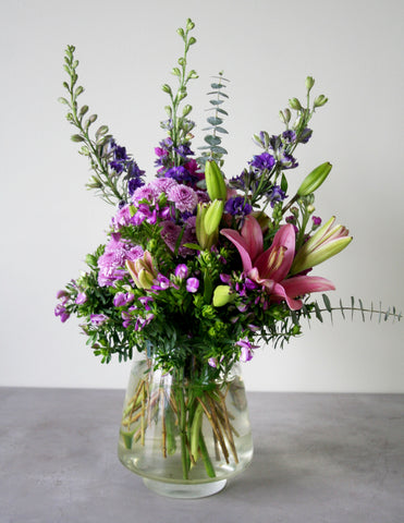 Stone Cottage Garden Fresh Floral Arrangement