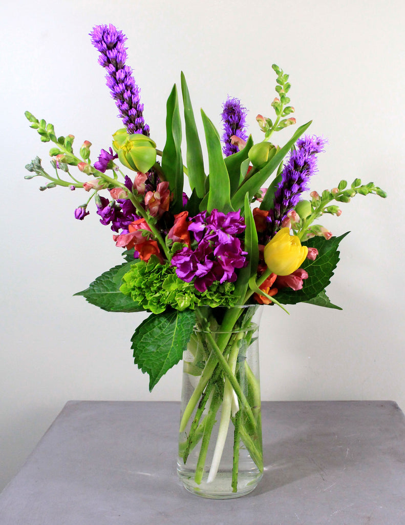 Beautiful and Bold Fresh Floral Arrangement