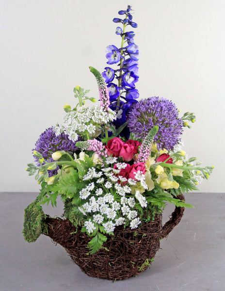 """Water the Flower Garden"" Fresh Floral Arrangement"