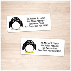 Adorable Little Penguin Address Labels - Printable Planning