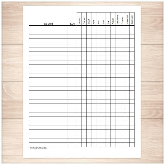 It's just a graphic of Mesmerizing Free Printable Payment Log